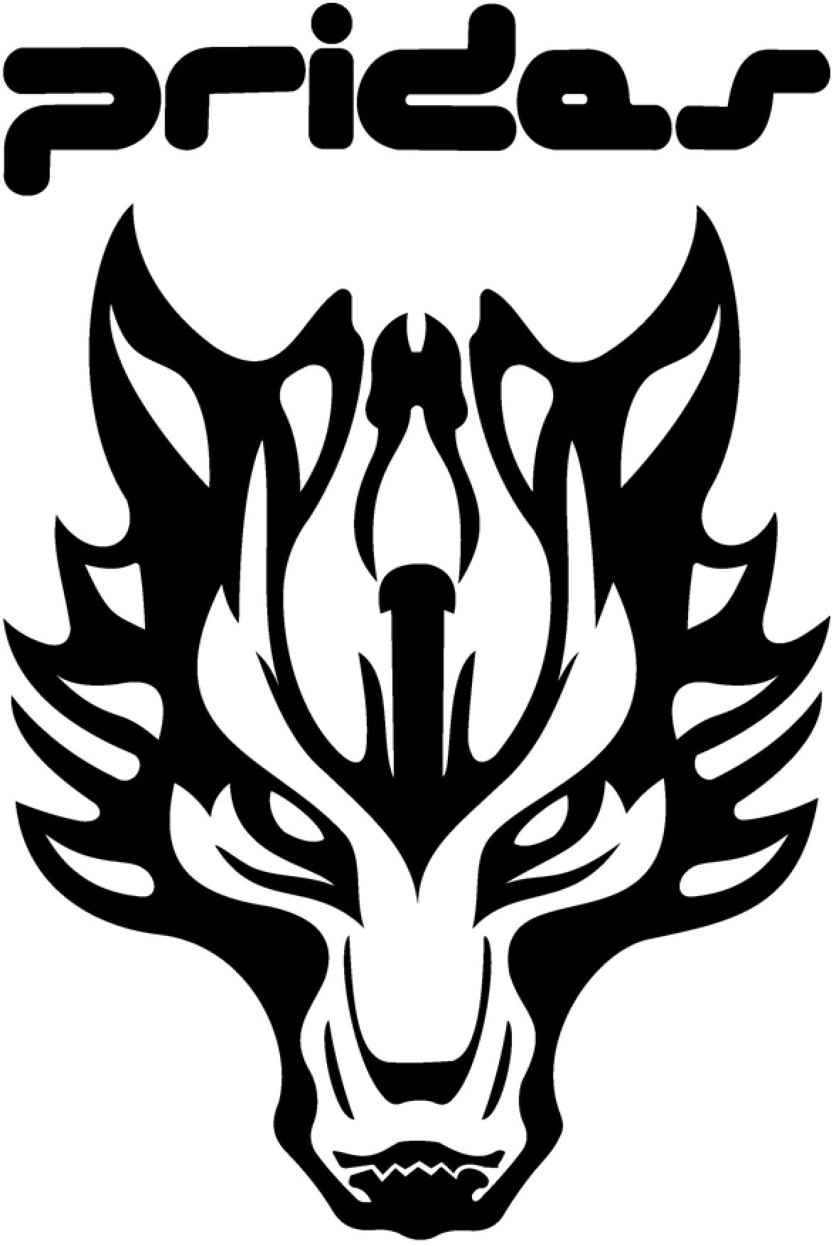 Logo Awanyuyadiary Prides Adaptasi Serigala Fenrir Ff Vii Gambar
